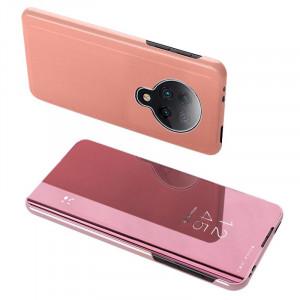 Огледален калъф тип книга Clear View - Xiaomi Redmi K30 Pro / Poco F2 Pro розов