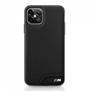 Оригинален гръб BMW BMHCP12LMHOLBK - iPhone 12 Pro Max черен