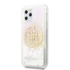 Оригинален гръб GUESS Gradient Liquid Glitter Circle Logo GUHCN65LGIRGP - iPhone 11 Pro Max