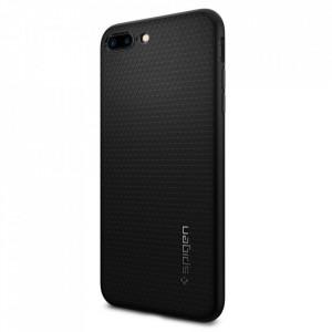 Оригинален гръб Spigen Liquid Air - iPhone 7 Plus / 8 Plus черен