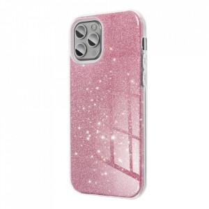 Силиконов гръб FORCELL Shining - Samsung Galaxy S21 Ultra розов