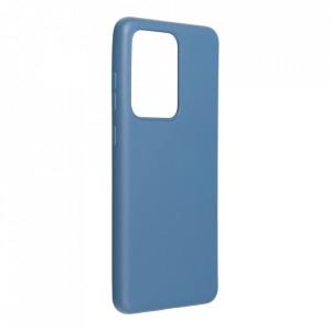 Силиконов гръб FORCELL Silicone Lite - Galaxy S21 Ultra син