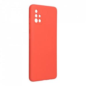 Силиконов гръб FORCELL Silicone Lite - Samsung Galaxy A52 / A52 5G розов