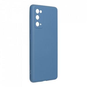 Силиконов гръб FORCELL Silicone Lite - Samsung Galaxy S20 FE / S20 FE 5G син