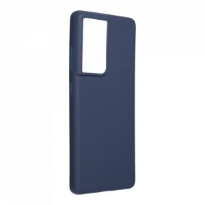 Силиконов гръб FORCELL Soft - Samsung Galaxy S21 Ultra тъмносин