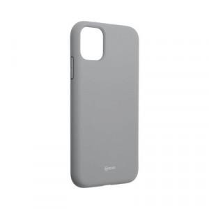 Силиконов гръб ROAR Colorful Jelly - iPhone 11 сив