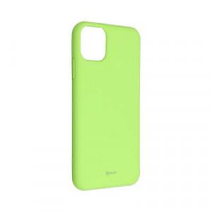 Силиконов гръб ROAR Colorful Jelly - iPhone 11 Pro Max лайм