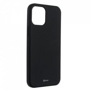 Силиконов гръб ROAR Colorful Jelly - iPhone 12 Pro Max черен