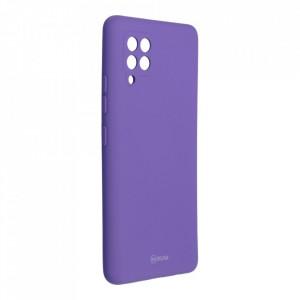 Силиконов гръб ROAR Colorful Jelly - Samsung Galaxy A42 5G лилав