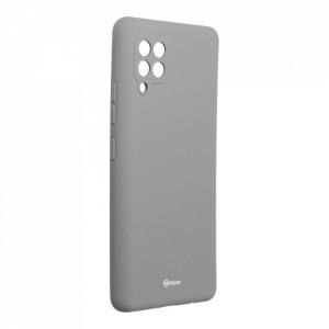 Силиконов гръб ROAR Colorful Jelly - Samsung Galaxy A42 5G сив