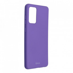 Силиконов гръб ROAR Colorful Jelly - Samsung Galaxy A72 / A72 5G лилав