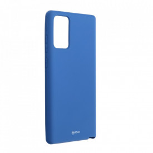 Силиконов гръб ROAR Colorful Jelly - Samsung Galaxy Note 20 тъмносин