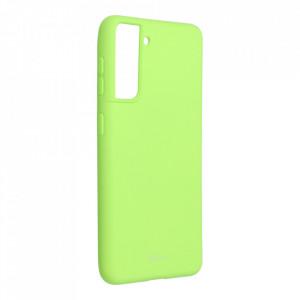 Силиконов гръб ROAR Colorful Jelly - Samsung Galaxy S21 лайм