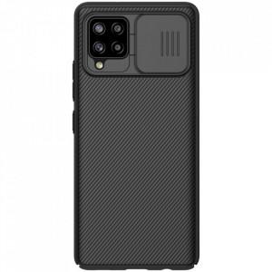 Твърд гръб Nillkin CamShield Pro със защита за камерата - Samsung Galaxy A42 5G черен