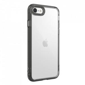 Твърд гръб Ringke Fusion със силиконов бъмпер - iPhone 7 / 8 / SE 2020 черен (FSAP0051)
