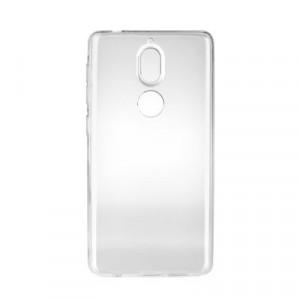 Ултратънък силиконов гръб 0.3mm - Nokia 7 Plus прозрачен