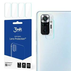 4бр. гъвкав протектор за камера 3MK Lens Protect - Xiaomi Redmi Note 10 Pro