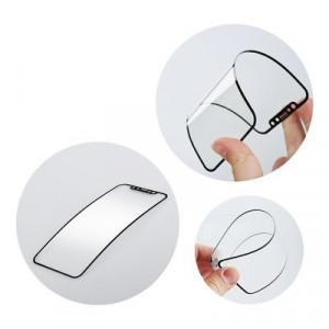 5D Full Glue гъвкав нано протектор - iPhone 7 Plus / 8 Plus черен