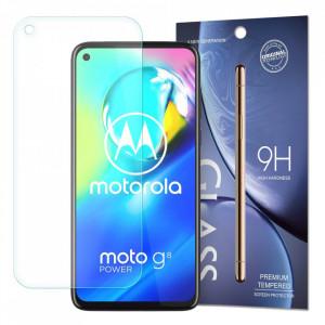 9H закален стъклен протектор - Motorola Moto G8 Power