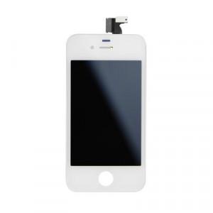 LCD екран iPhone 4S с дигитайзер бял HQ