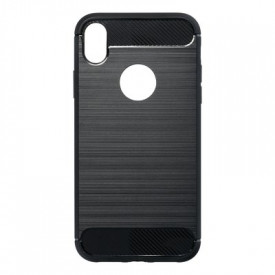 Гръб FORCELL Carbon - iPhone XR черен