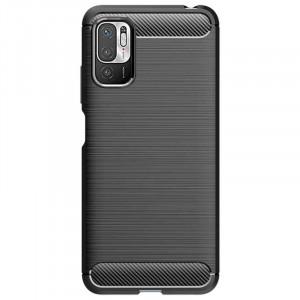 Гръб FORCELL Carbon - Xiaomi Redmi Note 10 5G / Poco M3 Pro / Poco M3 Pro 5G черен