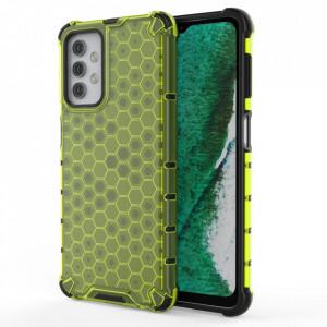 Гръб Honeycomb Armor със силиконов бъмпер - Samsung Galaxy A32 5G зелен