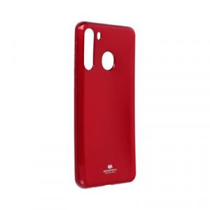 Гръб Jelly Mercury - Samsung Galaxy A21 червен
