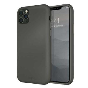 Гръб UNIQ Lino Hue - iPhone 11 Pro Max сив