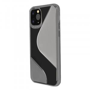 Гъвкав силиконов гръб S-Case - Samsung Galaxy A21S черен