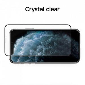 Закален стъклен протектор Spigen Align Master FC с рамка за поставяне - iPhone 11 Pro Max