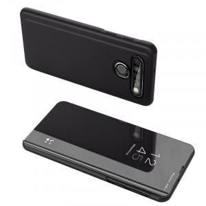 Калъф тип книга Clear View (активен капак) - LG K61 черен
