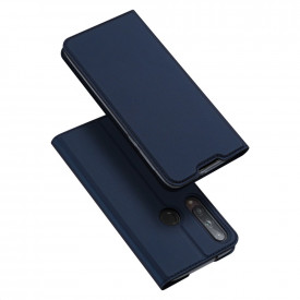 Калъф тип книга DUX DUCIS Skin Pro - Huawei P40 Lite E син
