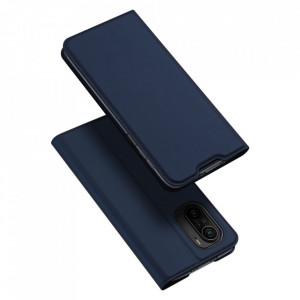 Калъф тип книга DUX DUCIS Skin Pro - Xiaomi Redmi K40 Pro+ / K40 Pro / K40 / Poco F3 син