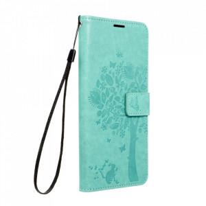 Калъф тип книга Forcell MEZZO - Samsung Galaxy S21 Ultra дърво / зелен