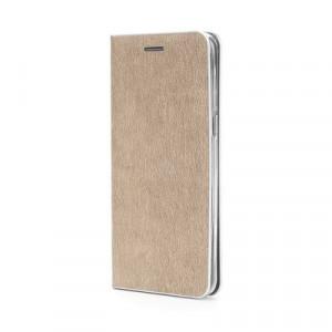 Калъф тип книга Luna Silver - iPhone 12 Pro Max златист