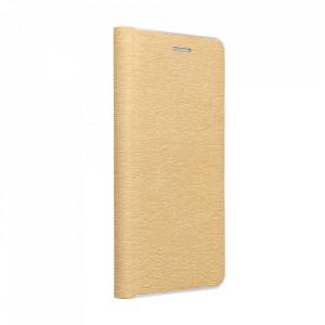 Калъф тип книга Luna Silver - Motorola Moto G 5G Plus златист