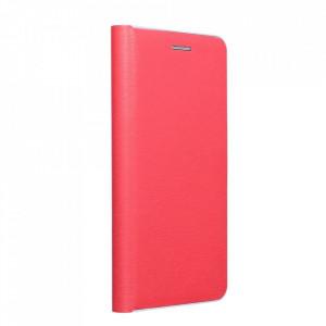 Калъф тип книга Luna Silver - Xiaomi Redmi Note 9T 5G червен