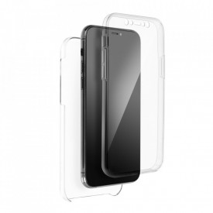 Калъф 360° с твърд гръб - Samsung S21 ULTRA прозрачен