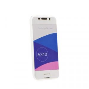Калъф 360° със силиконов гръб - Samsung Galaxy A41 прозрачен