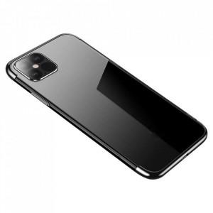 Силиконов гръб Clear Color с кант - Xiaomi Mi 10T Lite 5G черен