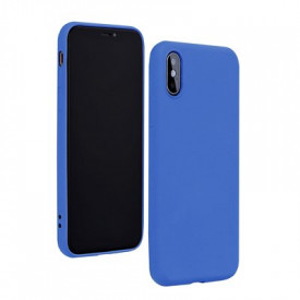 Силиконов гръб FORCELL Silicone Lite - iPhone 7 син
