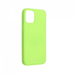 Силиконов гръб ROAR Colorful Jelly - iPhone 12 Mini лайм