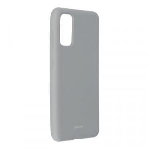 Силиконов гръб ROAR Colorful Jelly - Samsung Galaxy S20 сив