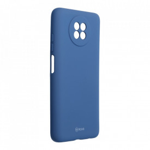 Силиконов гръб ROAR Colorful Jelly - Xiaomi Redmi Note 9 5G син