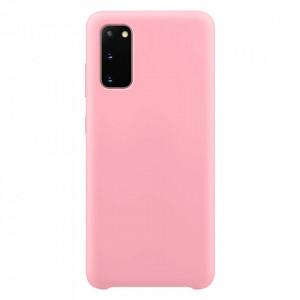 Силиконов гръб Soft Flexible Rubber - Samsung Galaxy S20 розов