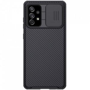 Твърд гръб Nillkin CamShield Pro със защита за камерата - Samsung Galaxy A72/A72 5G черен