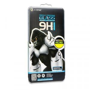 4D закален стъклен протектор 9H с пълно покритие LCD X-ONE - Samsung Galaxy S8 (съвместим с гръб) черен