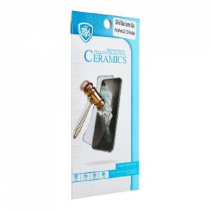 5D Full Glue hybrid керамичен протектор с рамка - Xiaomi Mi 11i / Poco F3 / Poco F3 Pro / Redmi K40 / Redmi K40 Pro черен