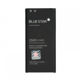 Батерия - Samsung Galaxy S5 Mini (G800F) 2500mAh Li-Ion BLUE STAR Premium